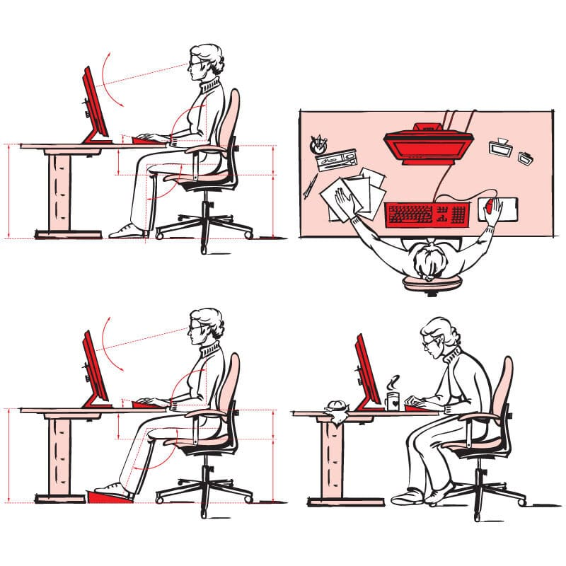 Ergonomically Correct Think Home Office 9020016
